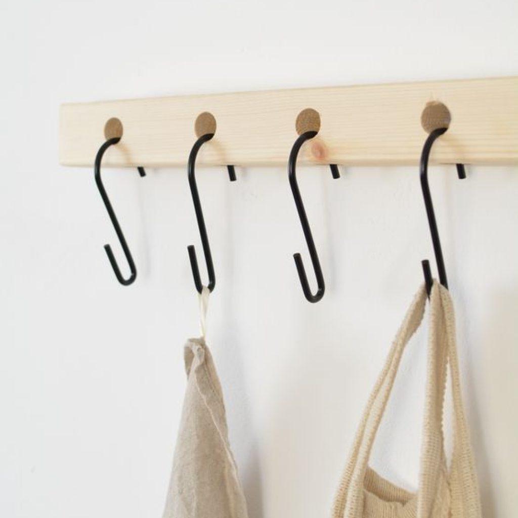 Hang Pants on S-Hooks